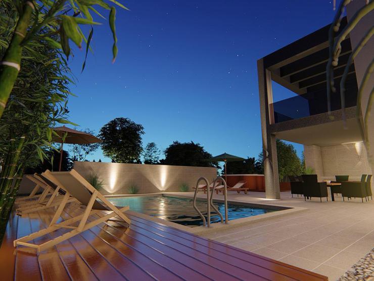 Kuća H320 – Nin, Zaton