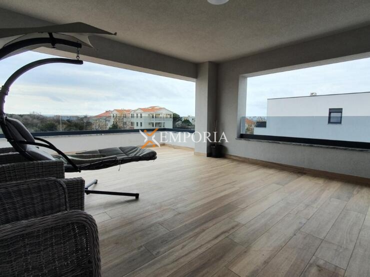 Apartman A520 – Nin, Zaton